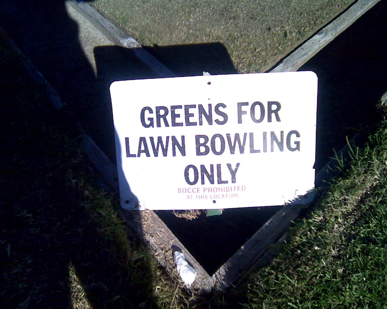 Bocce Ball Lawn Rules :  often confusion between Lawn Bowls and Bocce (Bocci, Boccie, Boccia